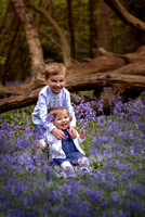 Bluebells family photo
